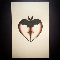 Cute Bat butt