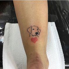 small dog tattoos for women Trendy Tattoos, Mini Tattoos, Body Art Tattoos, Tattoos For Guys, Sleeve Tattoos, Tattoos For Women, Cool Tattoos, Small Dog Tattoos, Tattoo Small