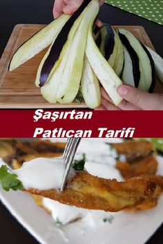 Crispy Eggplant, Turkish Recipes, Ethnic Recipes, Eggplant Recipes, Roast, Good Food, Food And Drink, Appetizers, Cooking Recipes