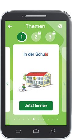 Die kostenlose DaZ-App für iOS und Android – mit den 1300 wichtigsten Wörtern und Wendungen für Kinder (Mildenberger Verlag)