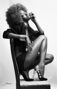 Where Professional Models Meet Model Photographers - ModelMayhem Black Girls Rock, Black Girl Magic, Black Power, Curly Hair Styles, Natural Hair Styles, Pelo Natural, Natural Baby, Ebony Beauty, How To Pose