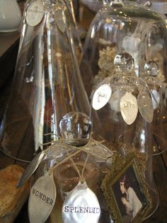 cloches with spool ornies