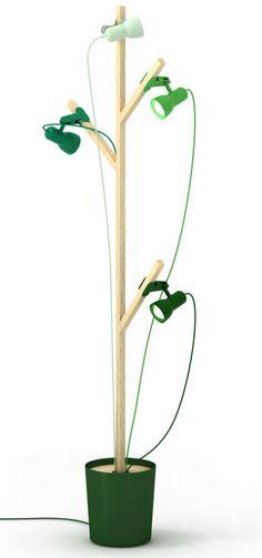 Lamp by 5.5 designers #green #lighting