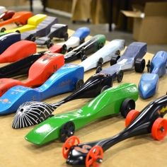 Pinewood derby to CO2 dragsters, from Scouts to TSA a natural next step...