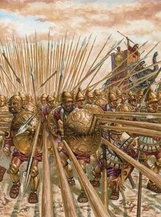 The Battle of Heraclea took place in 280 BC between the Romans under the command of consul Publius Valerius Laevinus, and the combined forces of Greeks from Epirus, Tarentum, Thurii, Metapontum, and Heraclea under the command of Pyrrhus king of Epirus.