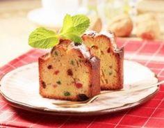 Recette - Cake aux fruits confits inratable | Notée 4.1/5