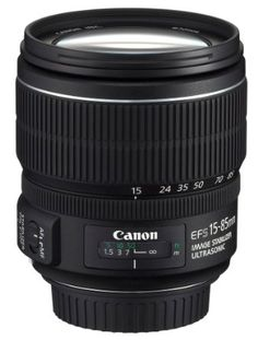 Amazon.com: Canon EF-S 15-85mm f/3.5-5.6 IS USM UD Standard Zoom Lens for Canon Digital SLR Cameras: CANON: Camera & Photo
