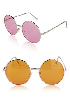 472e7c2bf878 Shop online Sunny Pro Round Sunglasses Retro Circle Tinted Lens Glasses  UV400 Protection. Explore our