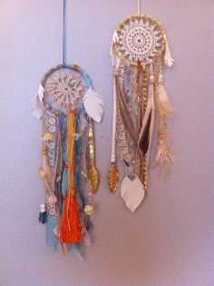 lil baby #dreamcatchers by Rachael Rice. Order yours at http://rachaelrice.com/art/custom-orders