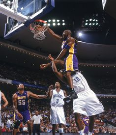 Kobe Bryant just getting all nasty with this dunk on Dwight Howard