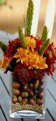 Fall Floral Arrangement                                                                                                                                                     More