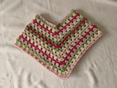 How to crochet a quick and EASY poncho - all sizes (part 1)