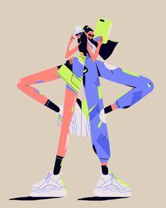 by Sören Selleslagh Illustration Simple, People Illustration, Funny Illustration, Business Illustration, Character Illustration, Digital Illustration, Graphic Illustration, Book Design Graphique, Illustration Design Graphique