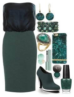 """""""#95"""" by lynnbowersx ❤ liked on Polyvore featuring Tom Ford, Shoes of Prey, Jamie Joseph, HEET, OPI, Shay, Eos and Chantecaille"""