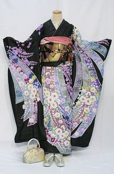 Japanese Kimono Tsujigahana - what a work of ART!