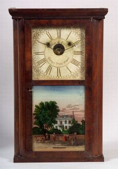 Rosewood shelf clock by Silas B Terry in Connecticut, circa Clocks For Sale, Old Clocks, Antique Clocks, Farmhouse Clocks, Classic Clocks, As Time Goes By, Lord Is My Shepherd, Tic Toc, Hourglass
