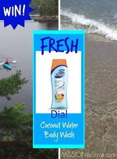 WIN 2 Dial Coconut Body Wash Freebie Coupons (ends 8/15)
