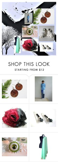 """""""Etsy Gifts"""" by artbybrooke ❤ liked on Polyvore featuring Scialle"""