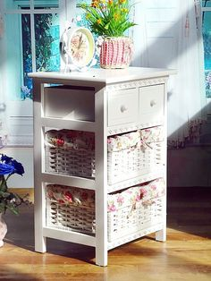 Home furniture vintage wooden cabinet with natural wicker basket, View wooden cabinet with natural wicker basket, TONGSHUN Product Details from Cao County Tongshun Woodwork Co., Ltd. on Alibaba.com