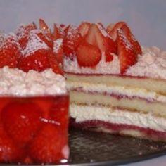 Zázračná jahodová torta