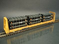 HO Scale Ductile Iron Pipe Load