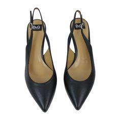 Escarpins D&G www.jolicloset.com  #escarpins #dolcegabbana #d&g #luxe #mode #fashion #paris #chaussures #sandales