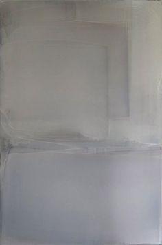 #art #paintings #white #composition - Matt McClune   Untitled White Composition ('Burgundy Light'), 2010-2012