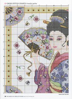 Gallery.ru / Фото #1 - The world of cross stitching 151 - tymannost