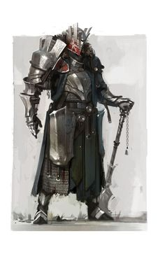 Asmodean Warpriest - Pathfinder PF DND (Source : Project Lightfall ):