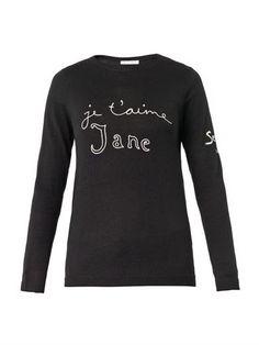 Je t'aime Jane wool-knit sweater | Bella Freud | MATCHESFASHIO...