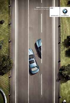 Advertising Pics, BMW - Lane Assist  Source:...