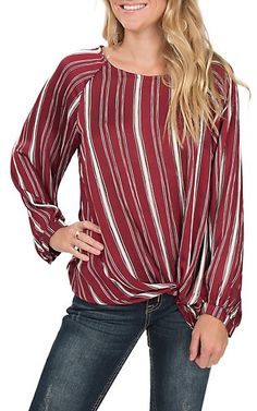 Browse the western fashion tops for women at Cavender's and you'll love what you find. We are the authority on western fashion for women, so visit Cavender's today for all your western needs. Fashion 2017, Curvy Fashion, Womens Fashion, Fashion Top, Fashion Dresses, Ladies Western Shirts, Woman Wine, Western Outfits, Shirt Style