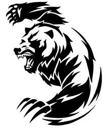 tribal bear tattoo designs | Apache Server at www.vectorgenius.com Port 80