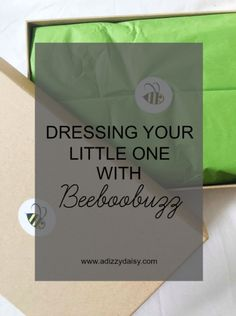 Dressing Your Little One With Beeboobuzz Baby Style, Paper Shopping Bag, Dressing