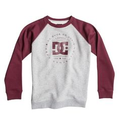 Sudadera/Sweatshirt/Crew Niño/Youth Boys DC Shoes Rebuilt Port Street Skate
