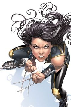 Image result for X 23  CARTOON