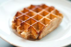 Liege Waffles (these are made hot and sold on the streets of Belgium) I have never had a waffle as DELICIOUS as a leige waffle from Belgium. This recipe looks worth a try. The pearl sugar is the key here.