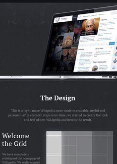 Wikipedia Redesign-Concept