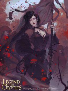 Artist: Unknown - Title: Unknown - Card: Mourning Corum (Death Omen)