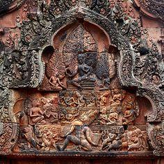 Carvings of Banteay Srei, V