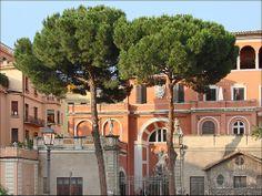 L'environnement du Palais Barberini (Rome)