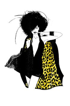 GLAMOUR MAGAZINE GERMANY -  TIME FOR NEW FRIENDS by LUIS TINOCO - ILLUSTRATOR, via Flickr