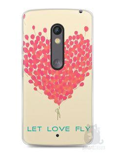 Capa Capinha Moto X Play Deixe o Amor Voar - SmartCases - Acessórios para celulares e tablets :)