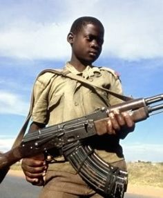 In Uganda war there are 66000 children, and they have been abducted by the resistance army. also they cannot school. because they are needed at home and solider..