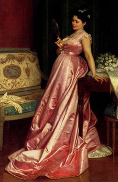 The Admiring Glance by Auguste Toulmouche, 1868