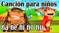 Canción na ne ni no nu - El Mono Sílabo - Videos Infantiles - Educación ...