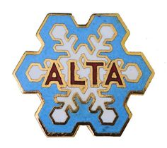 """ALTA vintage enamel pin badge lapel UTAH Ski snow mountain resort by VintageTrafficUSA  24.00 USD  A vintage Alta pin! Excellent condition. Measures: approx 1"""" Add inspiration to your handbag tie jacket backpack hat or wall. 20 years old hard to find vintage high-quality pin. -------------------------------------------- SECOND ITEM SHIPS FREE IN USA!!! LOW SHIPPING OUTSIDE USA!! VISIT MY STORE FOR MORE ITEMS!!! http://ift.tt/1PTGYrG FOLLOW ME ON FACEBOOK FOR SALE CODES AND UPDATES…"""