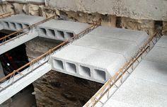 Risultati immagini per plancher en beton hourdis