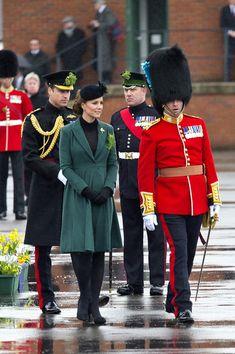 Catherine Middleton, Duchess of Cambridge, in Emilia Wickstead