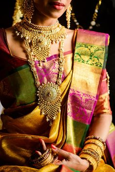 Different bridal silk saree